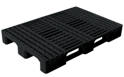 Plastic pallets for internal handling operations