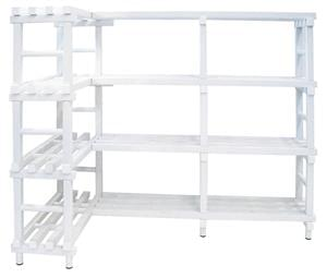 SC model corner shelving unit