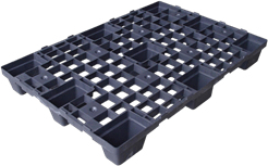 Plastic pallets for shipments
